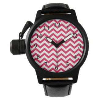 Zigzag rose montres