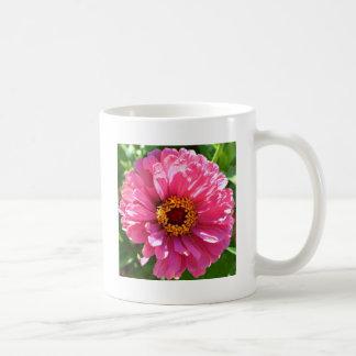 Zinnia rose mug