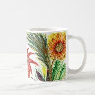 Zinnias abondants mug