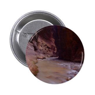 Zion rétrécit la rivière de Vierge de courants Badge