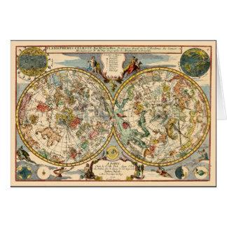 Zodiaque 1705 céleste cartes