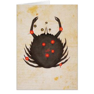 Zodiaque : Cancer, C1350 Cartes De Vœux