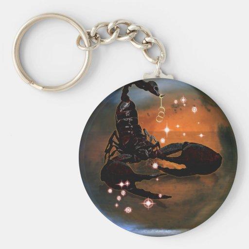 Zodiaque de cachot de métier - Scorpion Porte-clefs