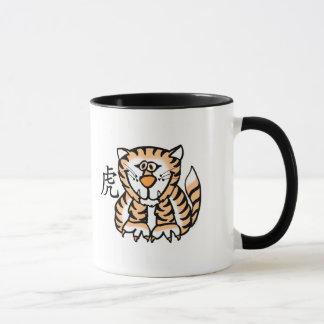 Zodiaque de Chinois de tigre Mug