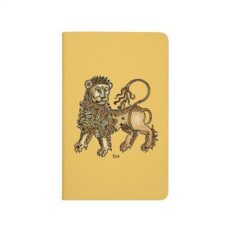 Zodiaque : Lion, 1482 Carnet De Poche