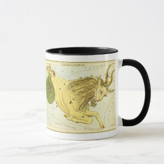 Zodiaque vintage, constellation de Capricorne Mug