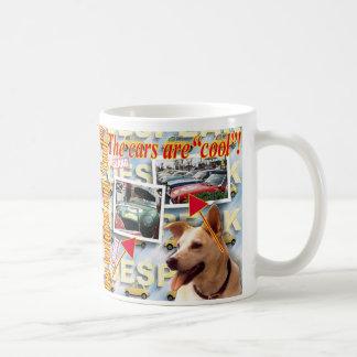 """ZoeSPEAK - les voitures sont """"fraîches"""" ! Mugs À Café"""