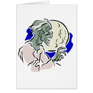 Zombi Carte De Vœux