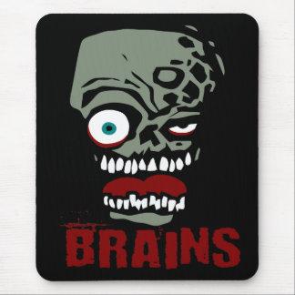 Zombi de cerveaux tapis de souris