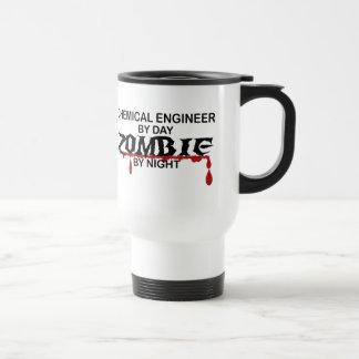 Zombi d'ingénieur chimiste mug de voyage