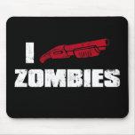 zombis du fusil de chasse i tapis de souris