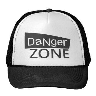 Zone dangereuse - casquettes de camionneur