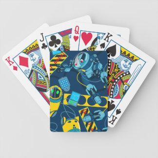 Zone de robot jeu de cartes
