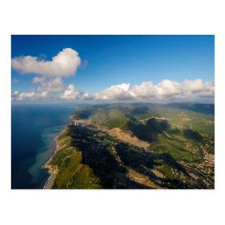 Zonguldak, antenne, côte de la Mer Noire de la Carte Postale
