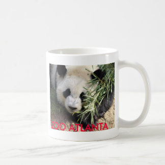 Zoo Atlanta d'ours panda @ Mug Blanc