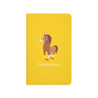 Zora le cheval carnet de poche