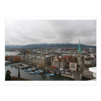 Zurich, Suisse Carte Postale