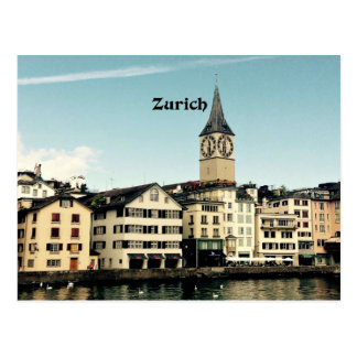 Zurich, Suisse Cartes Postales