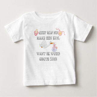 Zus de grote de mot d'Ik T-shirt Pour Bébé
