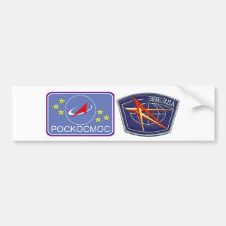 Zvesda : Module de service de RKC ISS Autocollant De Voiture