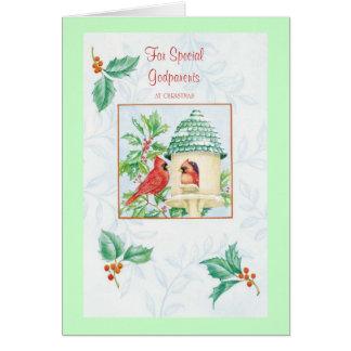 zz pour les parrains spéciaux à Christmas_001 Carte De Vœux
